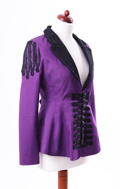 Veste violette femme